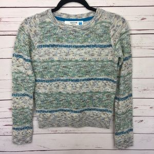 Anthropologie Sparrow Knit Wool Crew Neck Sweater